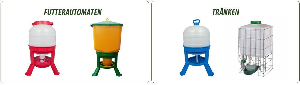 Futterautomaten und Tränken für Enten & Gänse