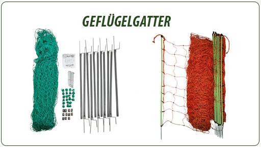 Gatter und Zäune für Enten & Gänse