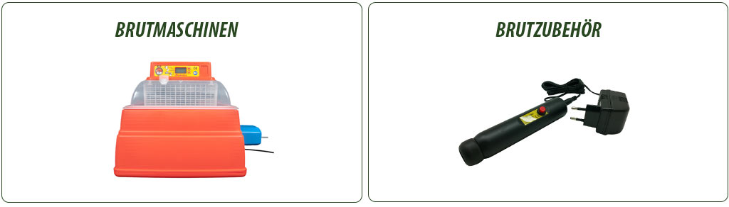 Brutmaschinen & Brutzubehör für Geflügel