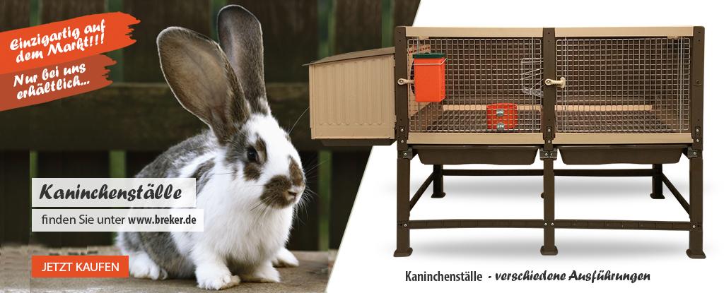 Kaninchenställe bei www.breker.de