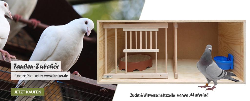 Zubehör für Tauben bei www.breker.de