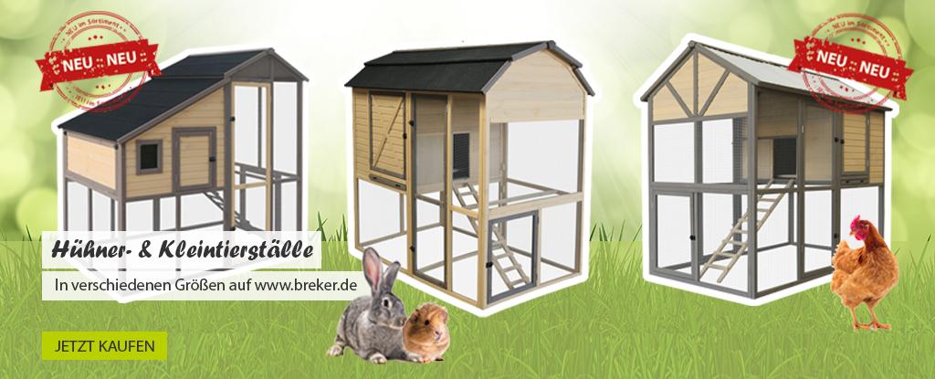 Hühnerställe bei www.breker.de