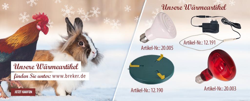 Wärmeartikel bei www.breker.de