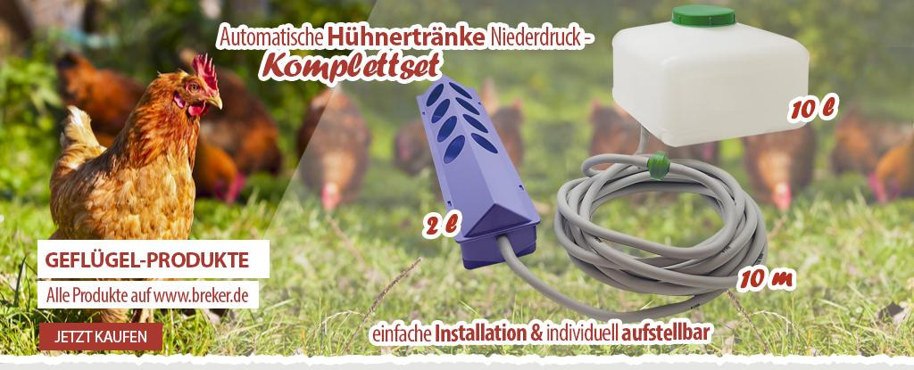 Automatische Hühnertränke bei www.breker.de